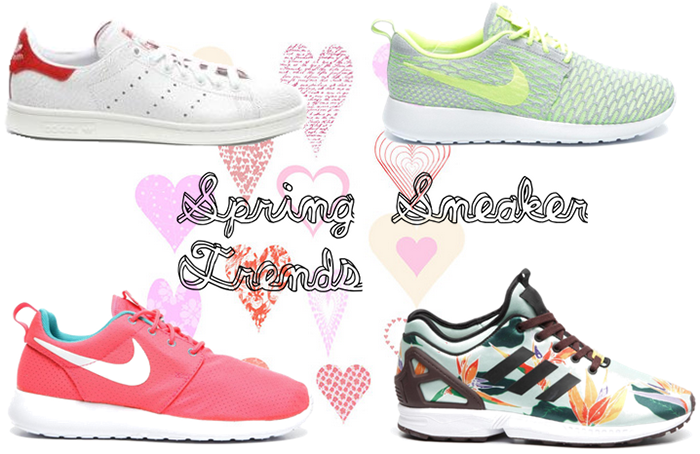 Spring sneaker trends