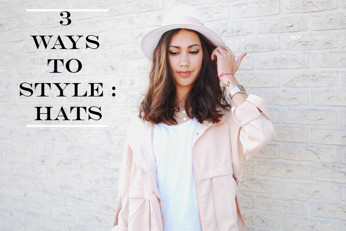 3 ways to style hats