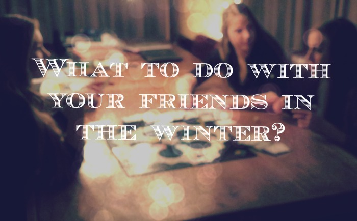 friends and winter