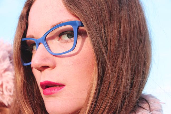 Max & Co Blue Glasses