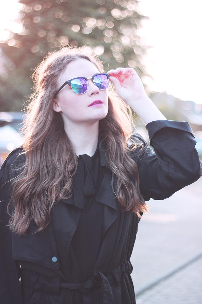 Glasses and black