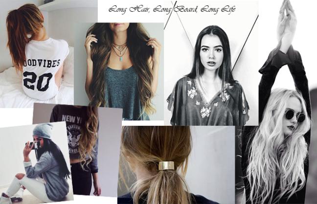 long hair, long board, long life
