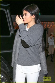 North Hollywood, CA - Kylie Jenner and Tyga step out for dinner at Casa Vega restaurant with a few friends. Credit Must Read: Maciel/AKM-GSI AKM-GSI November 3, 2015 To License These Photos, Please Contact : Steve Ginsburg (310) 505-8447 (323) 423-9397 steve@akmgsi.com sales@akmgsi.com or Maria Buda (917) 242-1505 mbuda@akmgsi.com ginsburgspalyinc@gmail.com